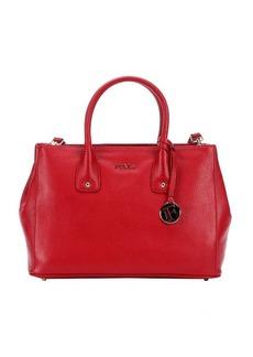 Furla cabernet leather 'Serena' small tote bag