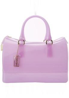 Furla Candy Gomma M Top Handle Bag