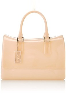 FURLA Candy Medium Satchel Classic Top Handle Handbag