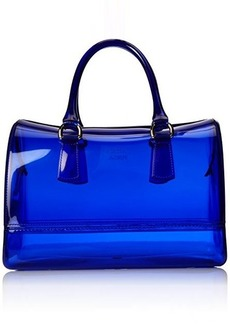 FURLA Candy Medium Satchel Top Handle Bag