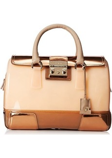 FURLA Candy Vanilla Medium Satchel Handbag