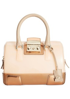 Furla Candy Vanilla Mini Satchel Mirror