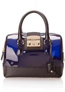 FURLA Candy Vanilla Mini Satchel Top Handle Bag