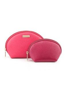Furla Classic Cosmetics Two-Pouch Set, Gloss/Mirto