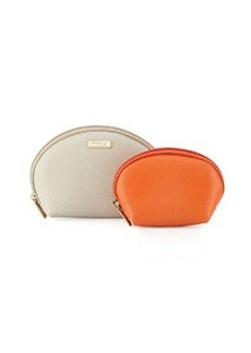 Furla Classic Cosmetics Two-Pouch Set, Marble/Vitamina