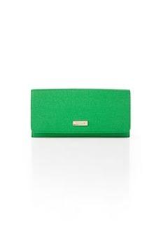 Furla Classic XL Bi-Fold Wallet, Emerald