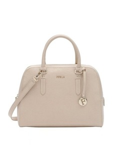 Furla cream leather medium 'Elena' convertible satchel