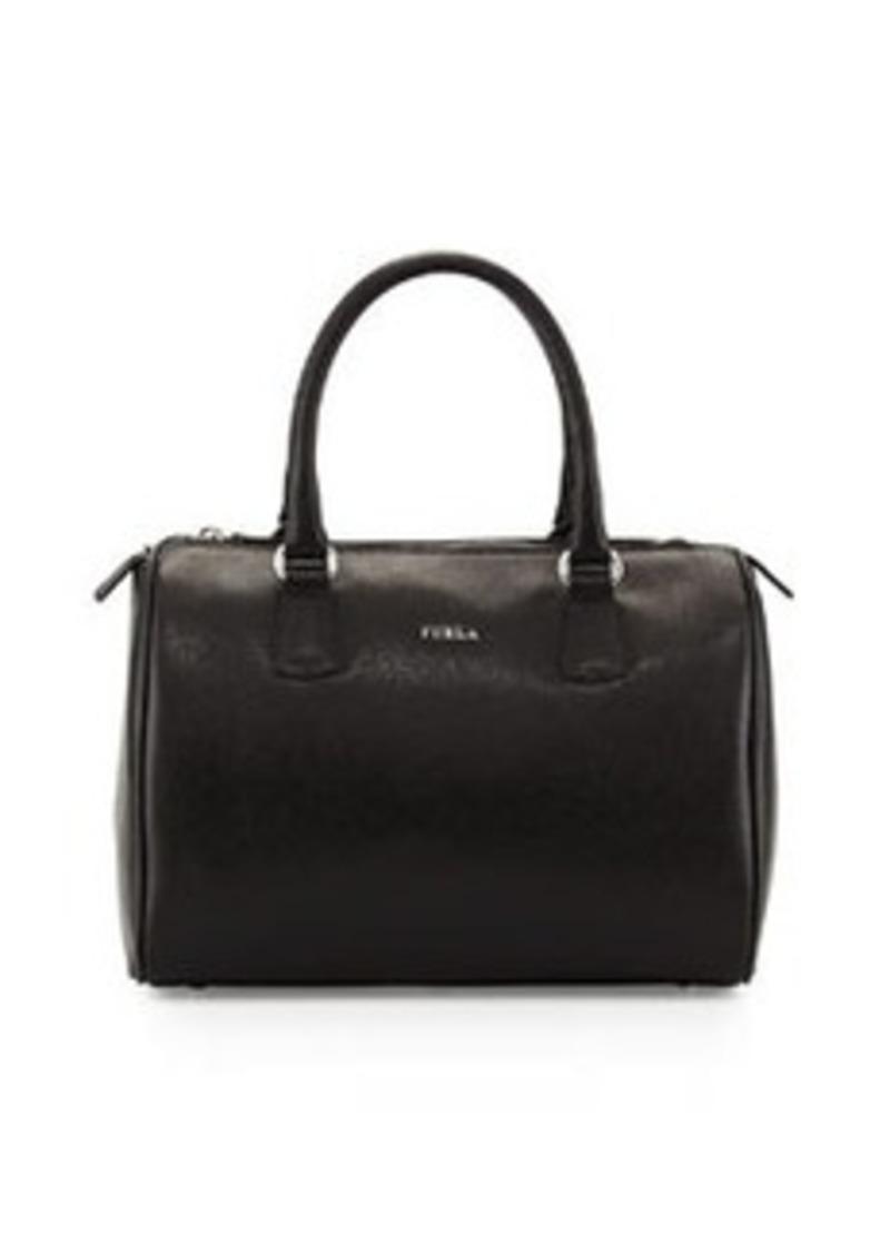 furla furla d light leather satchel bag onyx handbags shop it to me. Black Bedroom Furniture Sets. Home Design Ideas