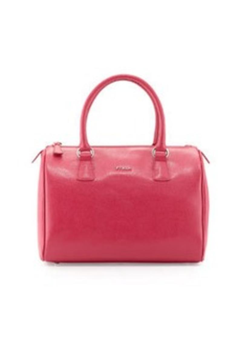 furla furla d light leather satchel bag pink handbags shop it to me. Black Bedroom Furniture Sets. Home Design Ideas
