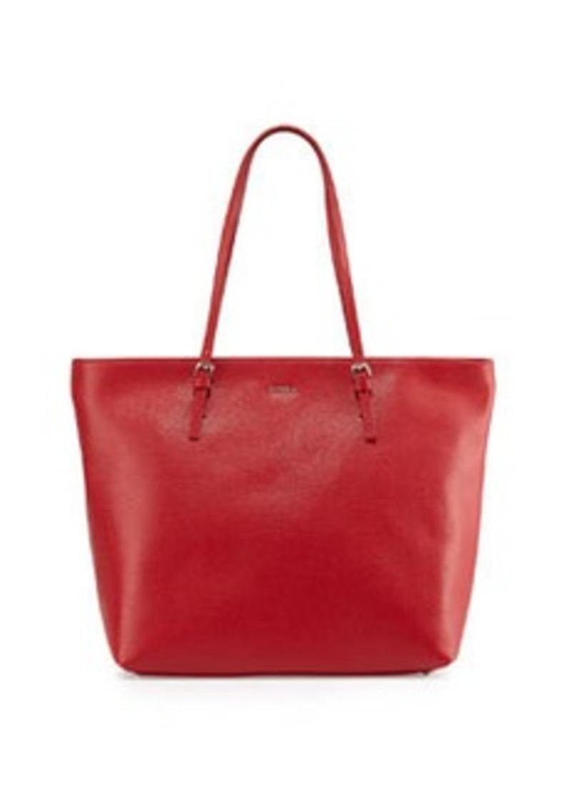 furla furla d light leather tote bag cabernet handbags shop it to me. Black Bedroom Furniture Sets. Home Design Ideas