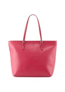 Furla D-Light Leather Tote Bag, Pink