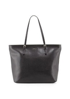 Furla D-Light Leather Tote, Onyx