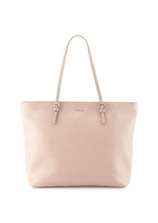 Furla D-Light Leather Tote, Taupe/Amande