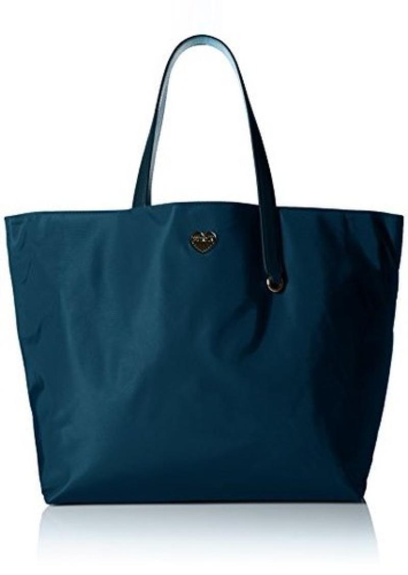 furla furla dama medium tote bag lapis turchese one size handbags shop it to me. Black Bedroom Furniture Sets. Home Design Ideas