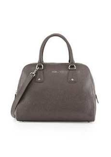Furla Elena Leather Satchel Bag, Mist
