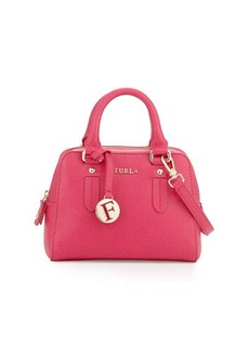 Furla Elena Mini Leather Satchel Bag