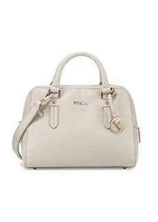 Furla Elena Small Satchel Bag, Stone