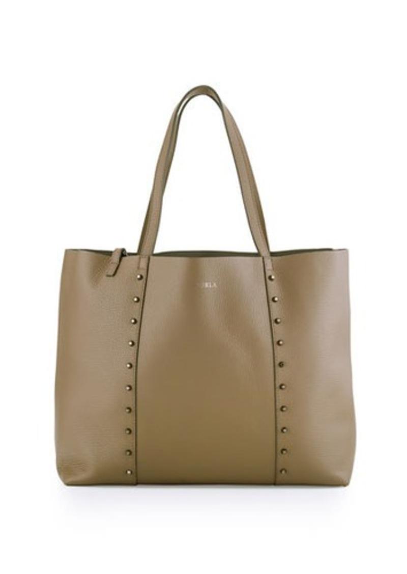 furla furla elle rock medium leather tote bag handbags shop it to me. Black Bedroom Furniture Sets. Home Design Ideas