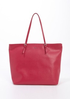 Furla fuxia leather 'D-light' medium top handle tote