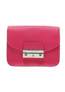 Furla hot pink leather 'Julia' mini shoulder bag