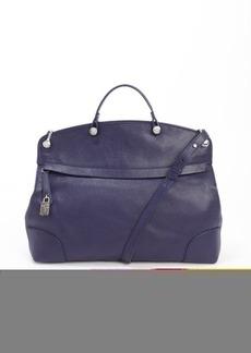 Furla ink leather 'Piper' satchel