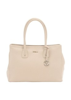 Furla ivory leather 'Serena M' side-expanding tote