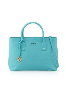Furla Josi East-West Medium Leather Tote Bag, Laguna