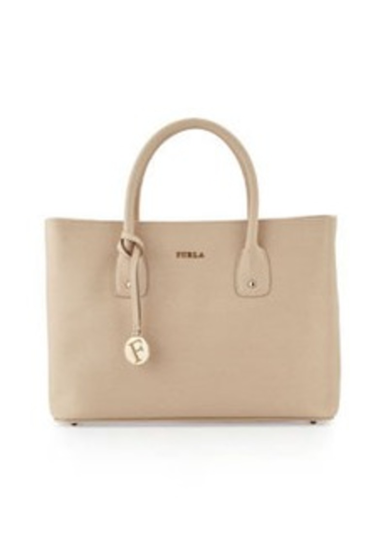 furla josi east west medium leather tote bag sand shop it to me all sales in one place. Black Bedroom Furniture Sets. Home Design Ideas