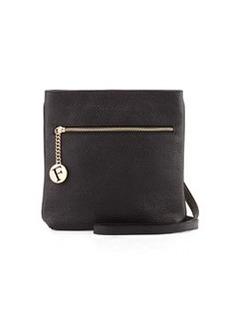 Furla Julia Leather Crossbody Bag, Onyx