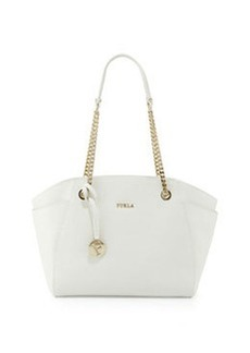 Furla Julia Medium Leather Tote Bag, Petalo