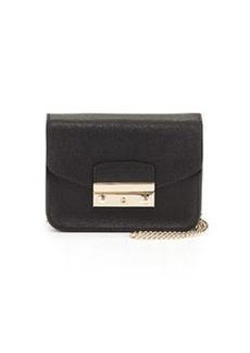 Furla Julia Mini-Crossbody Bag, Onyx