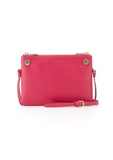 Furla Lilli Two-Tone Mini Leather Crossbody Bag