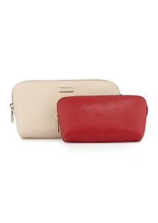 Furla Long Box Cosmetic Clutch Set