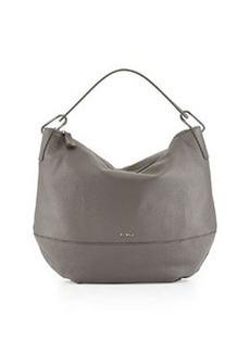 Furla Manola Leather Hobo Bag, Mist