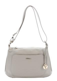 Furla marble leather 'Alida' small hobo bag