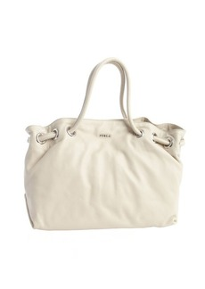 Furla marble leather 'Carmen' shopper tote