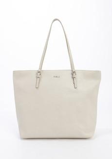 Furla marble leather 'D-light' medium top handle satchel