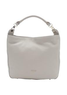 Furla marble leather large 'Raffaella' hobo bag