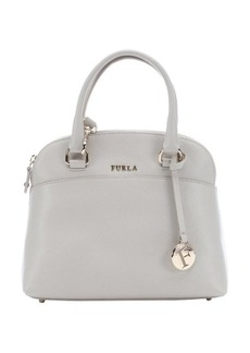 Furla marble leather small 'Victoria' dome satchel