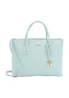 Furla mint crosshatched leather 'Josi' medium convertible tote