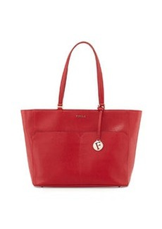 Furla Musa East-West Leather Tote Bag, Cabernet