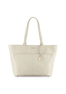 Furla Musa East-West Leather Tote Bag, Marble