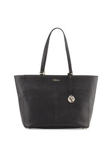 Furla Musa East-West Leather Tote Bag, Onyx
