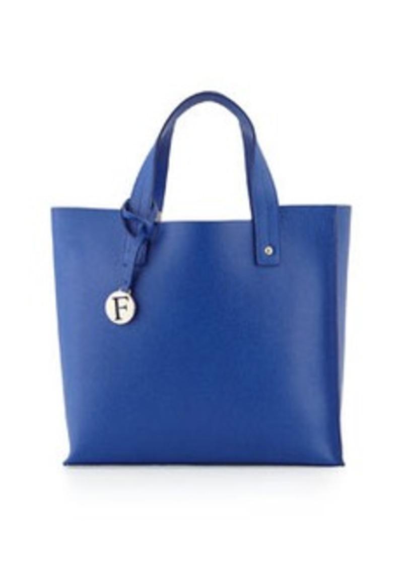 furla furla musa medium leather tote bag ocean handbags shop it to me. Black Bedroom Furniture Sets. Home Design Ideas