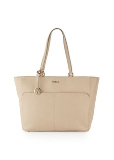 Furla Musa Medium Pocket Leather Tote Bag