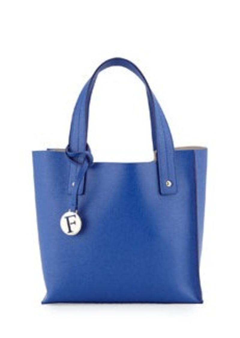 furla furla musa small leather tote bag ocean handbags shop it to me. Black Bedroom Furniture Sets. Home Design Ideas
