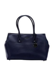 Furla navy leather 'Serena' medium tote bag