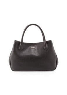 Furla New Giselle Leather Tote Bag, Onyx