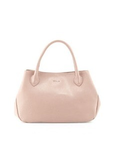 Furla New Giselle Leather Tote Bag, Taupe/Amande