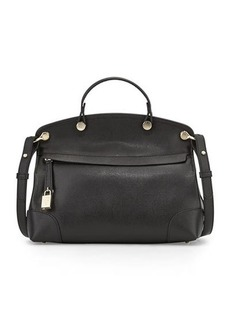 Furla Nikole Small Leather Satchel Bag
